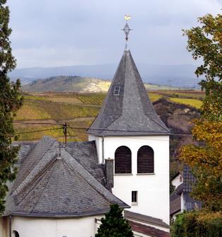 Katholischer Teil der Kirche, Blick von der Rückseite