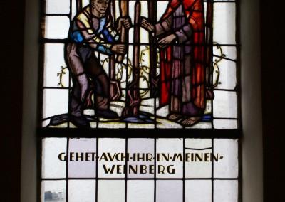 Katholische Kirche Dorsheim, Fensterbild