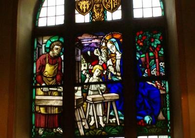 Kath. Kirche Dorsheim - Großes Fenster an der Nordseite