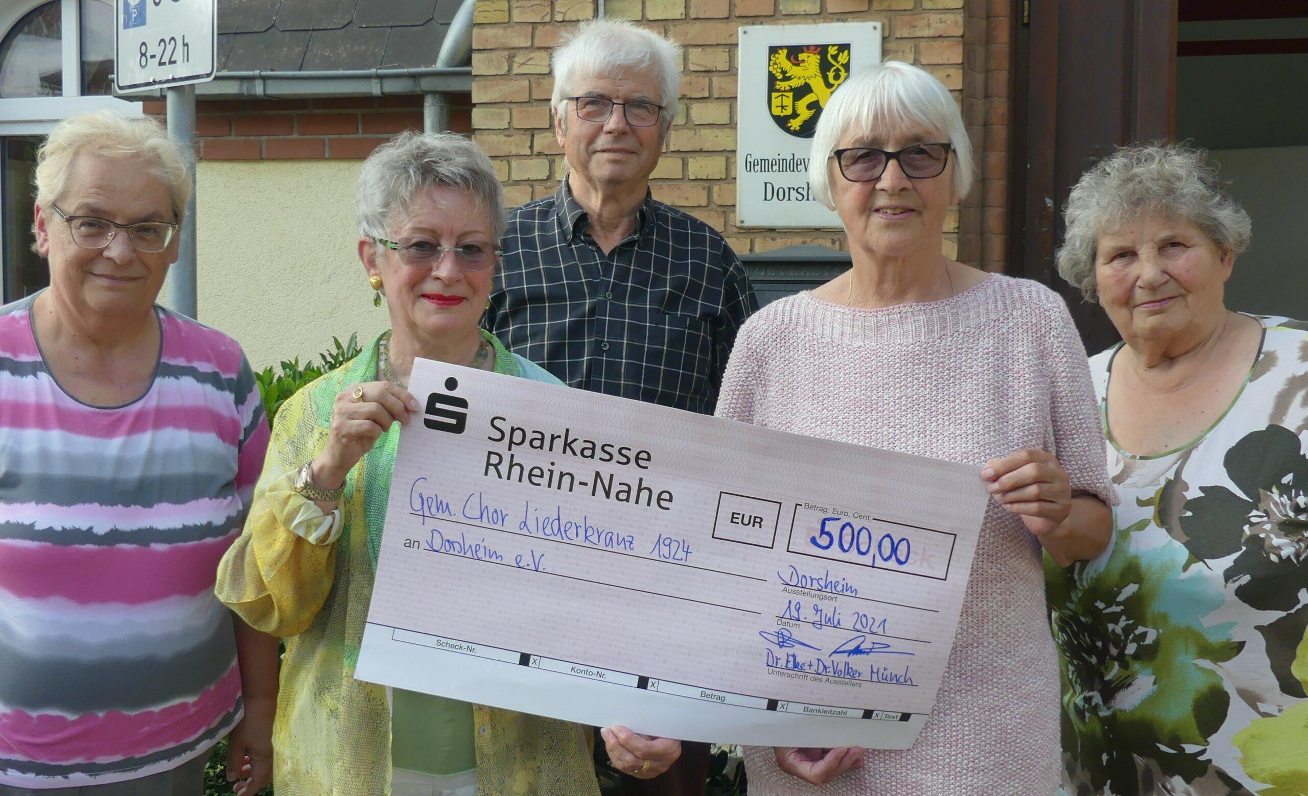 Ehepaar Münch spendet für Vereine